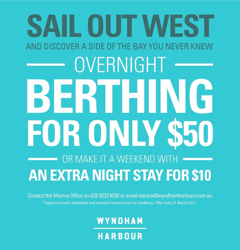 WYND9896 Wyndham Harbour   A5 Flyer for Overnight Marina Berthing V2 Page1