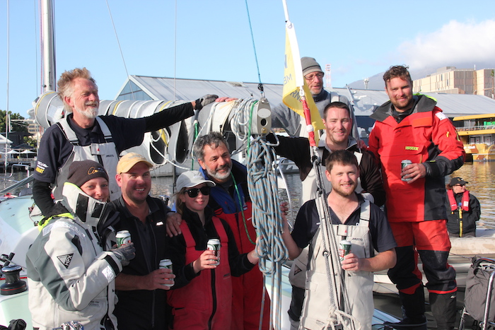 ORCV Melbourne to Hobart clean sweep for Tasmanian boats Oskana and Whistler