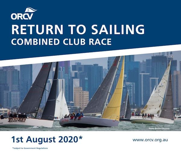 Return to sailing clubs race 1