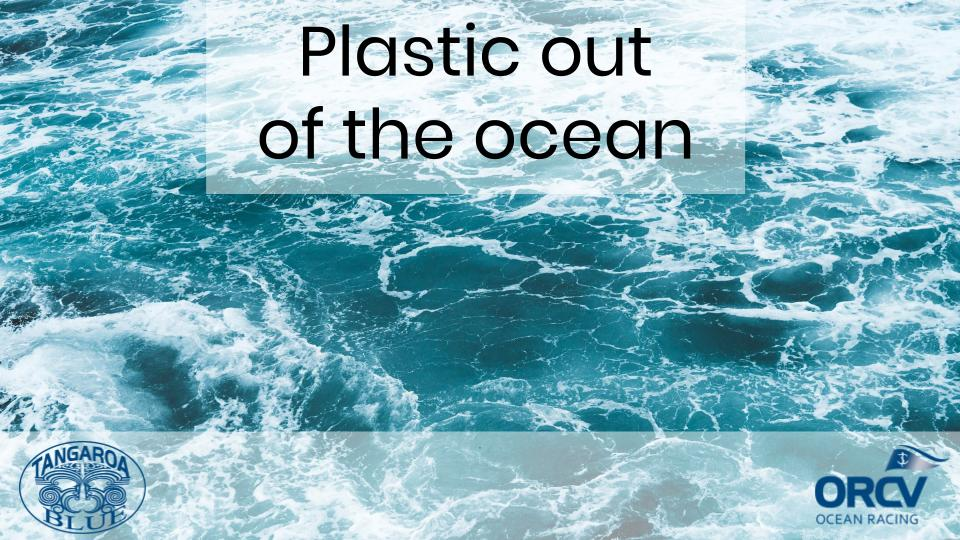 Plastic Off the Ocean